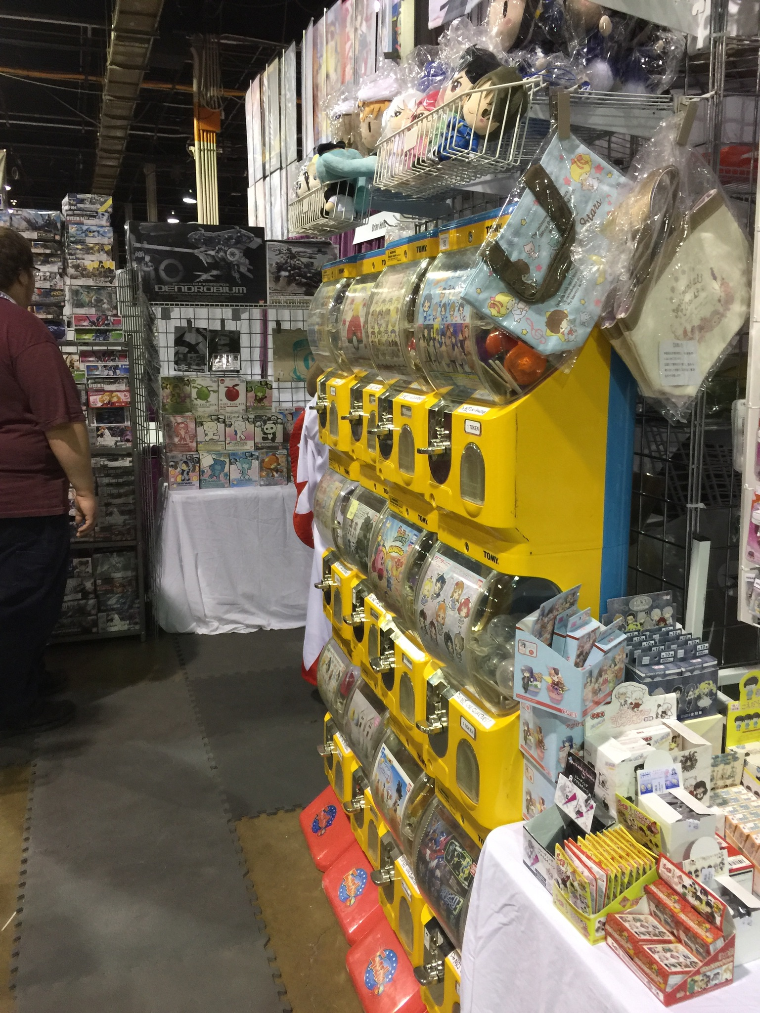 Anime Midwest 2018 Booth - Gachas