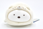 Sumikko to Umikko Super Mochimochi Plush Shirokuma as a Baby Seal