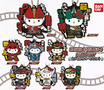 Kamen Rider Den-O X Hello Kitty Rubber Strap Collection