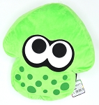 Splatoon 2 Neon Lime Green Plush Cushion